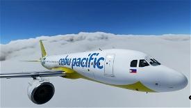 Cebu Pacific 8K Image Flight Simulator 2020