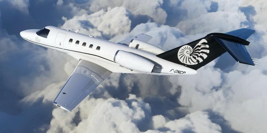 Cessna CJ4 Citation F-ONCP Air Alizé Flight Simulator 2020