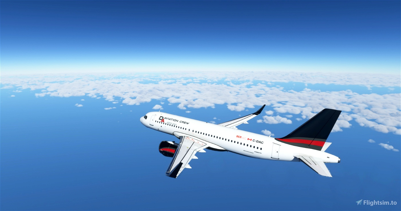 A320Neo-D&A Aviation Crew Virtual Airline Flight Simulator 2020