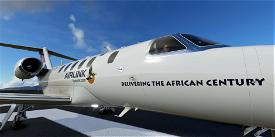 South Africa Airlink CJ4 Image Flight Simulator 2020