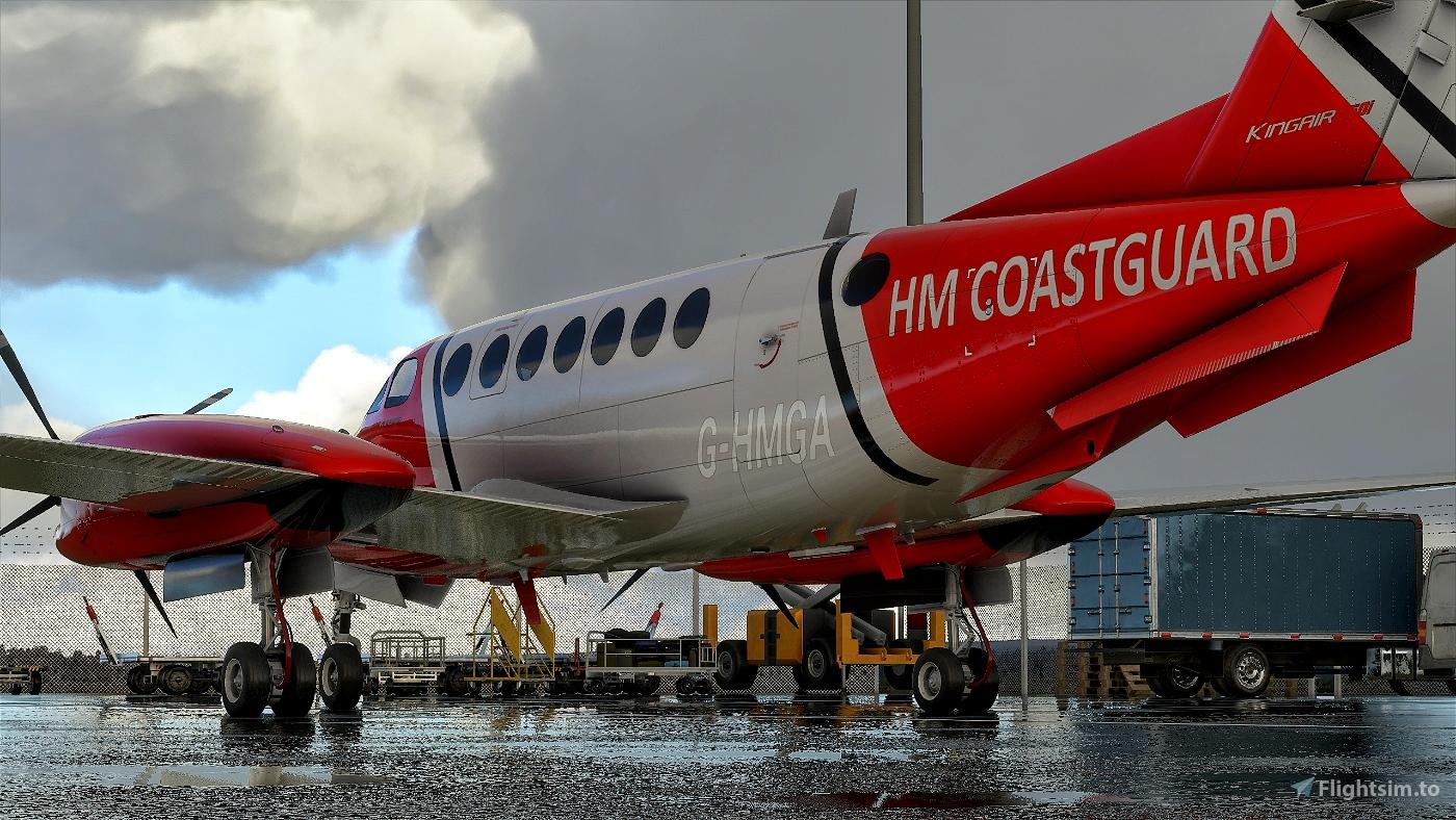 Beechcraft King Air350 HM CoastGuard