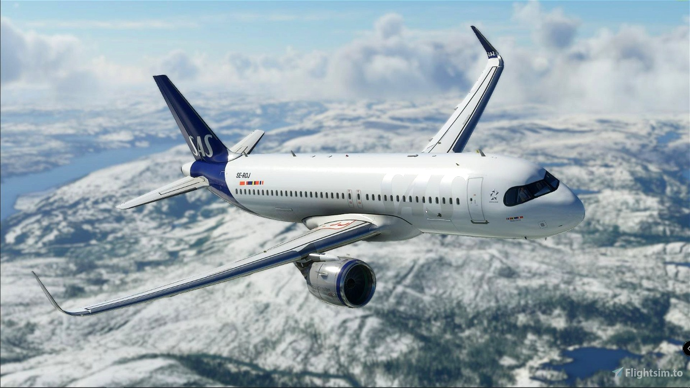 SAS / Scandinavian Airlines - New Style Flight Simulator 2020