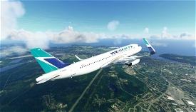 WestJet Old Livery (4K) Image Flight Simulator 2020
