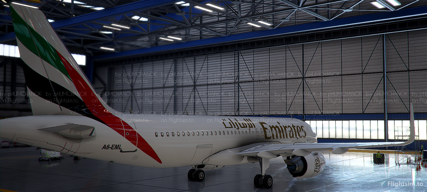 [High Res]Emirates A320 Neo