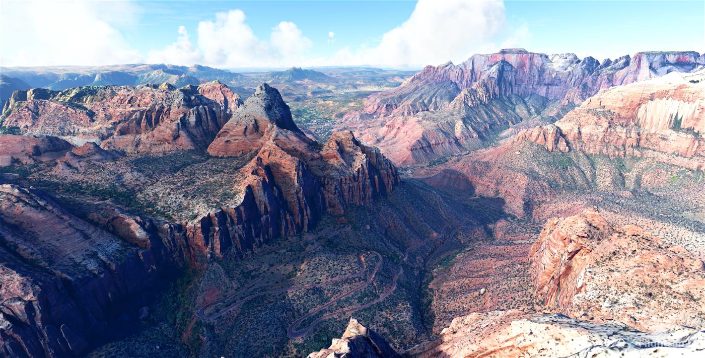 Zion Canyon National Park, Utah