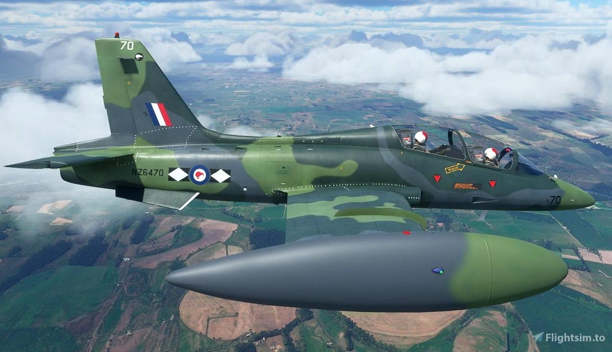 Aermacchi MB-339 RNZAF NZ4670 Flight Simulator 2020