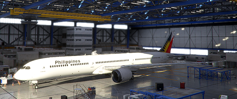 Boeing 787 Philippine Airlines Flight Simulator 2020