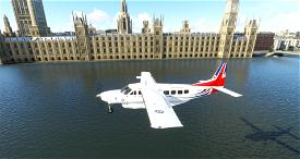 208B Cessna Caravan - Royal Air Force (RAF) Voyager Vespina Image Flight Simulator 2020