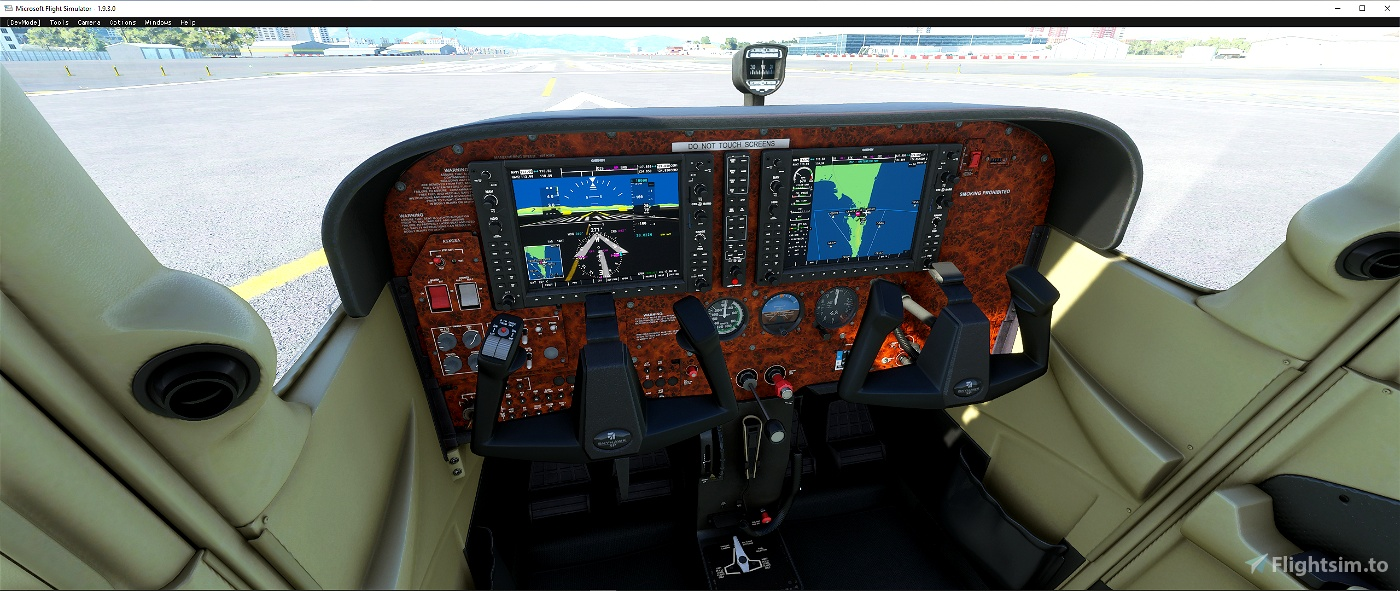 Cessna C 172 panel file Flight Simulator 2020