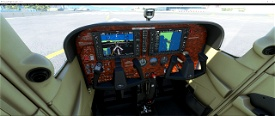 Cessna C 172 panel file Image Flight Simulator 2020