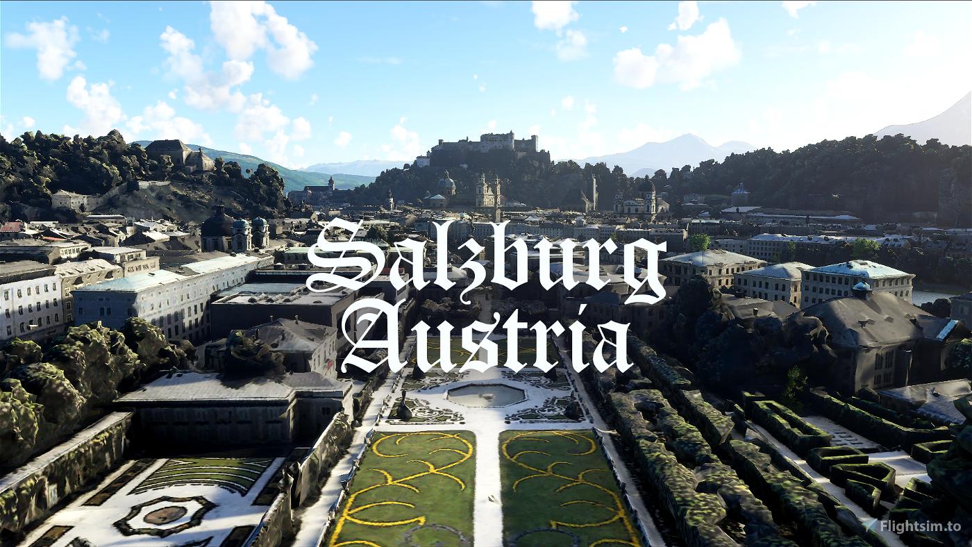 Salzburg, Austria - Photogrammetry Flight Simulator 2020