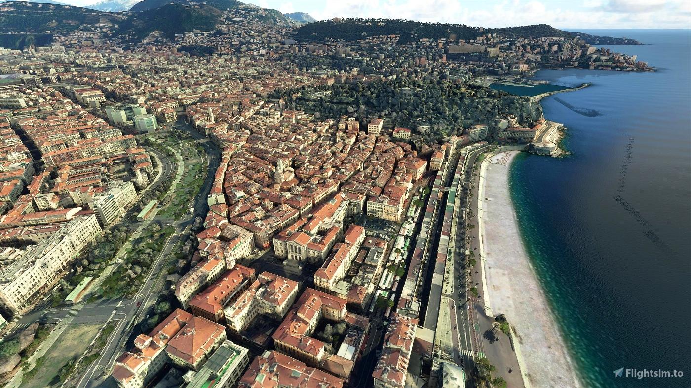 Nice, France Image Flight Simulator 2020