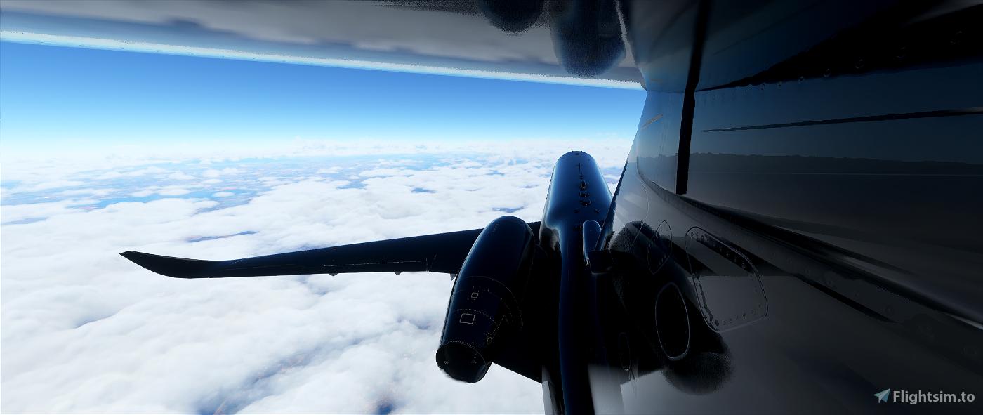 Cessna longitude Bullet Black