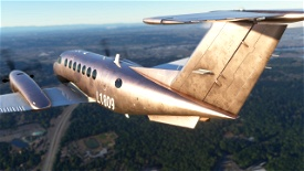 Lincoln Penny: A textured metallic tutorial livery with layered PSDs included Image Flight Simulator 2020