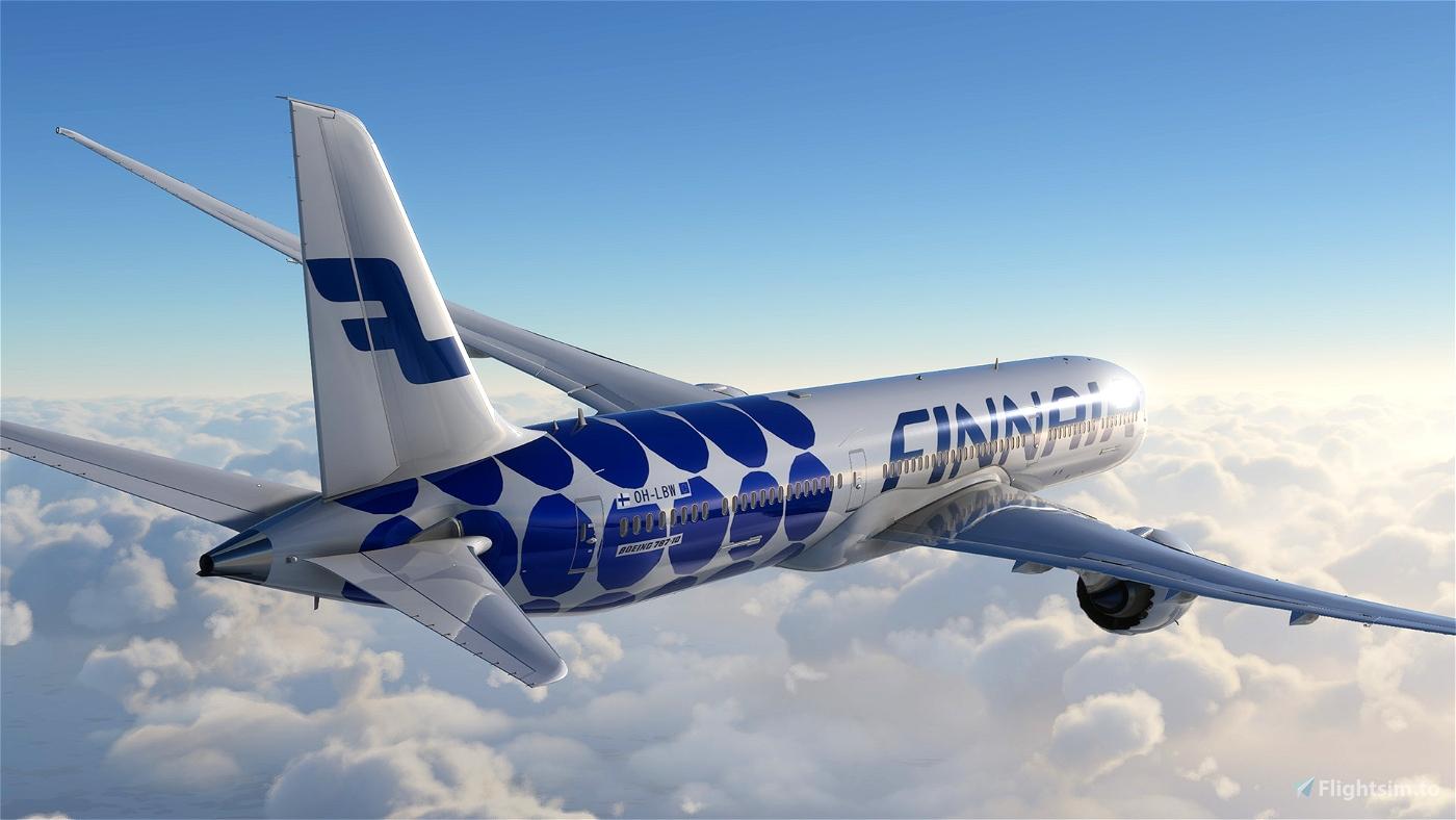 Boeing 787 - Finnair Marimekko Kivet Flight Simulator 2020