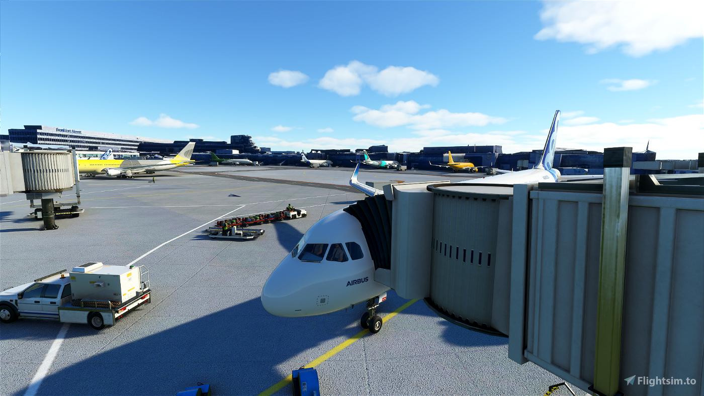 Frankfurt am Main Intl - [EDDF]  Image Flight Simulator 2020