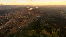 Klagenfurt, Austria - Photogrammetry Microsoft Flight Simulator
