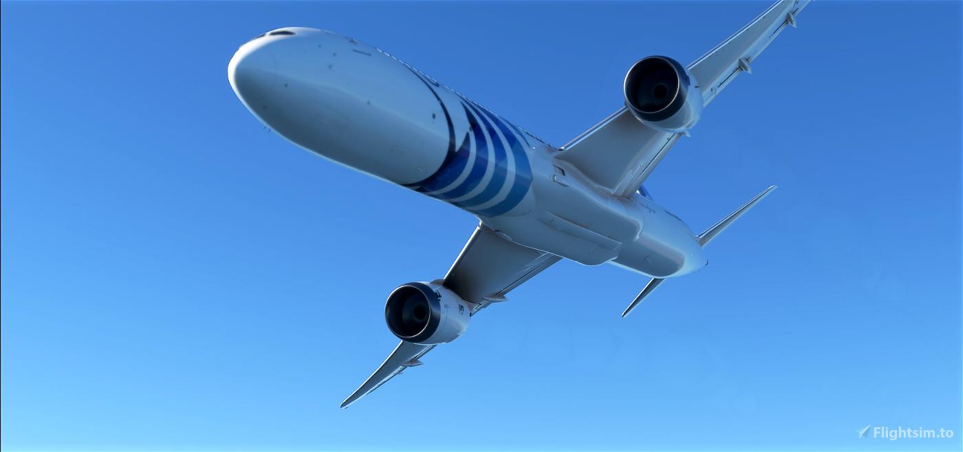 Egyptair 787 4K