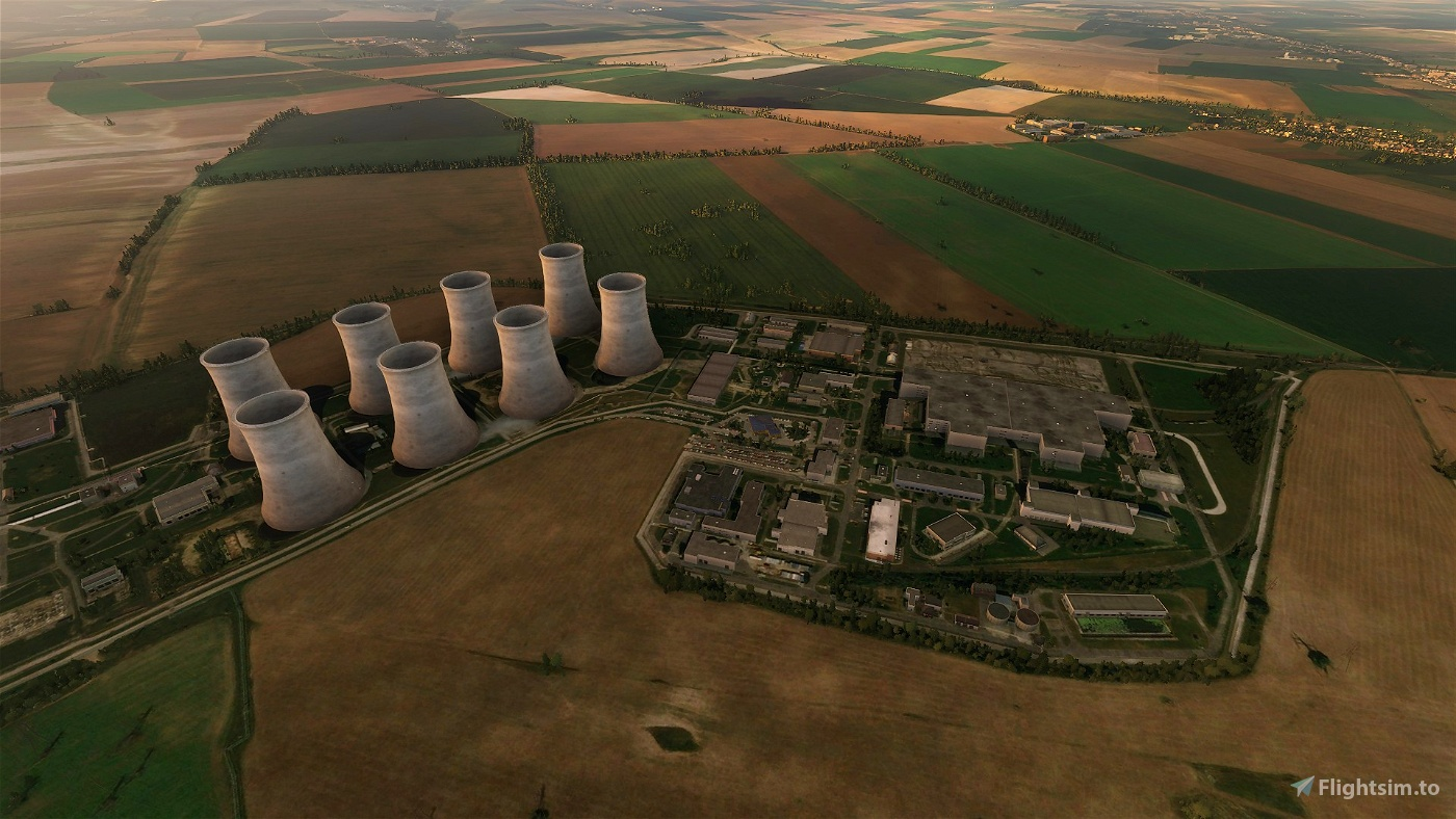 Cooling towers for nuclear power plants in Slovakia