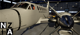 Royal New Zealand Air Force King Air 350 Microsoft Flight Simulator
