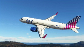 Sky Express ( upcoming livery for A320 Neo) (4K)[SX-IOG] Image Flight Simulator 2020