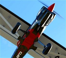 X-Cub Metalplate Image Flight Simulator 2020