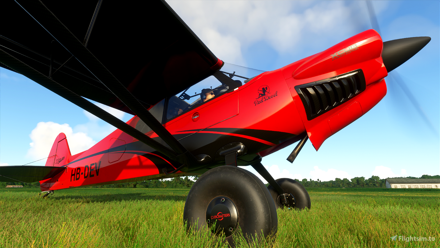 X-Cub Red Devil Flight Simulator 2020