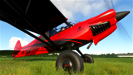 X-Cub Red Devil Image Flight Simulator 2020