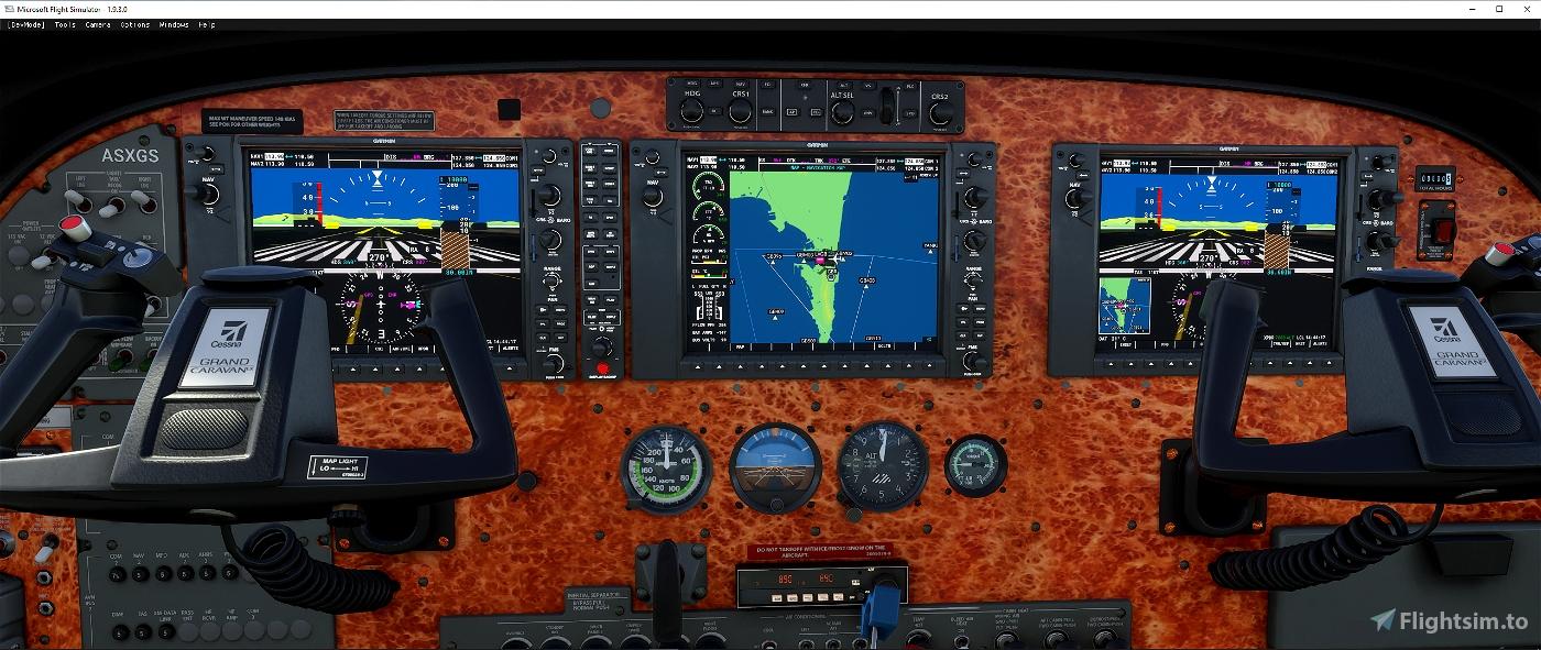 Cessna C 208 Grand Caravan panel file