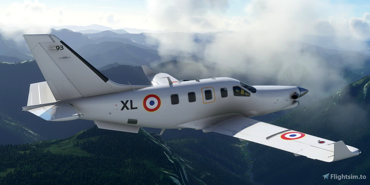 Daher TBM French Air Force 93 XL