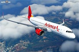 Avianca A320N  Image Flight Simulator 2020