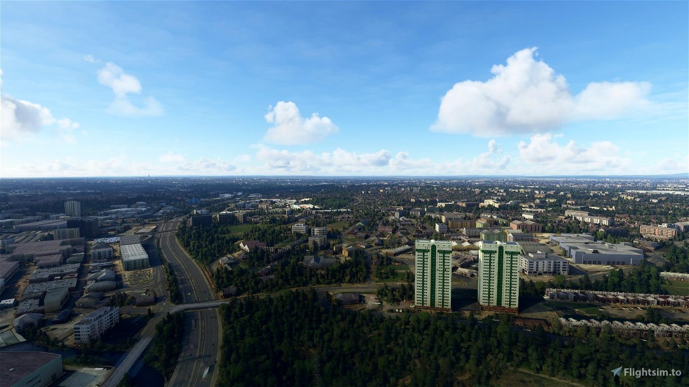 Manchester (EGCC) Approach Landmarks