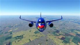NHS Thank You Skin Image Flight Simulator 2020