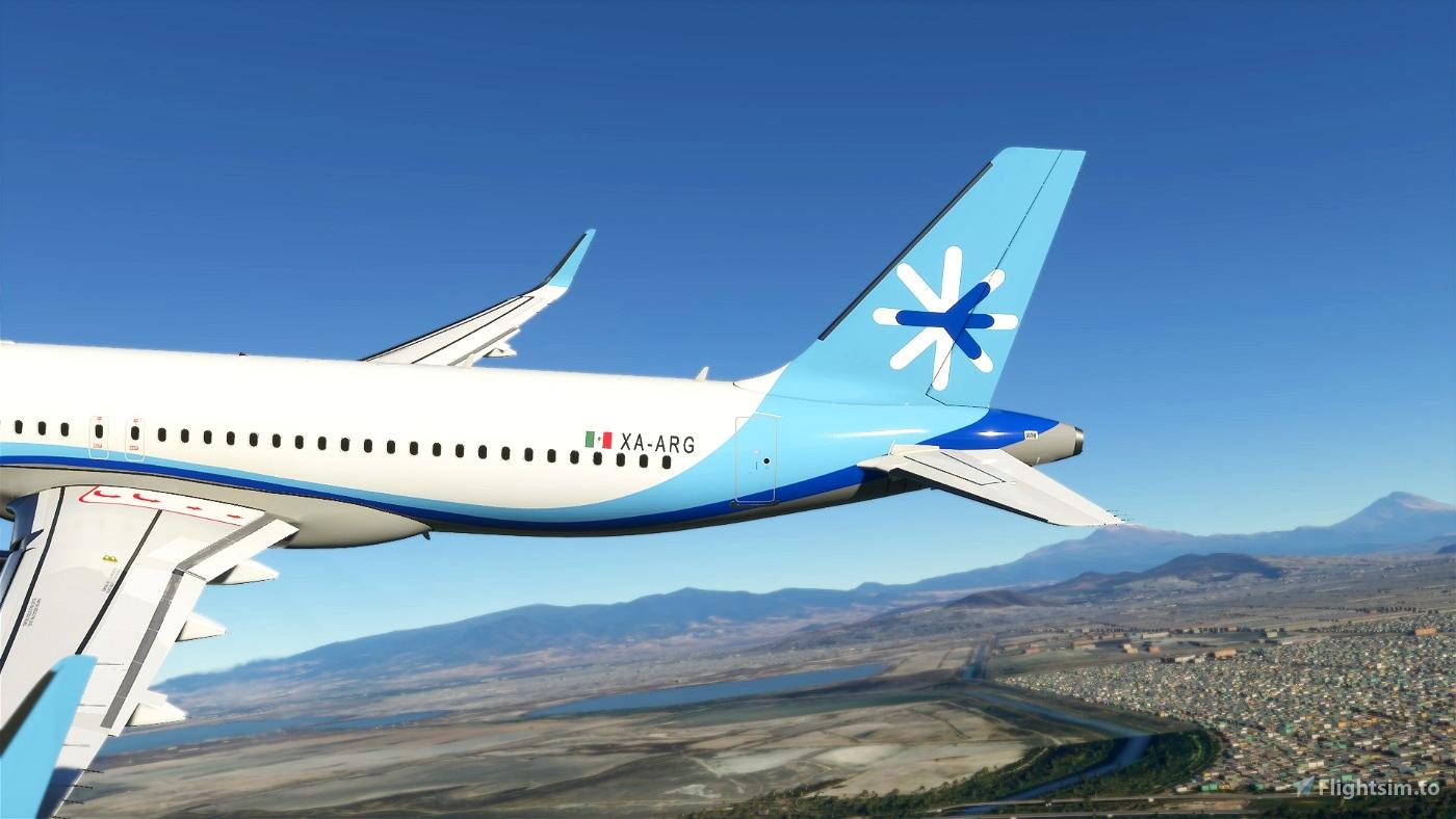 Interjet Airlines(4K)[XA-ARG]