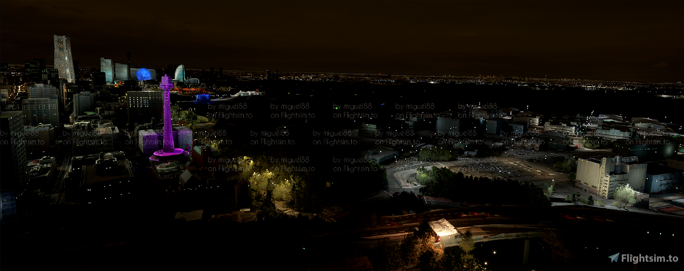 Tokyo Yokohama Nightlights