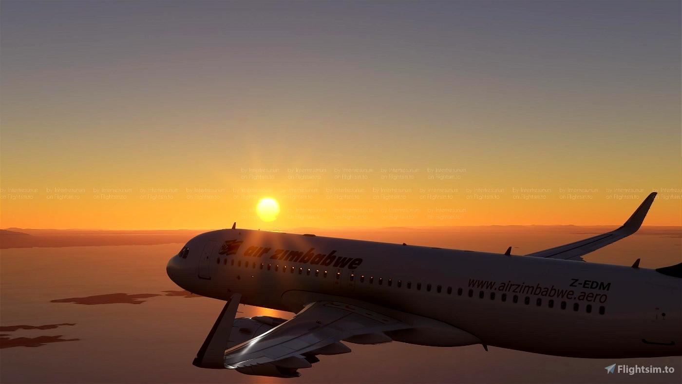 Air Zimbabwe A320 Neo