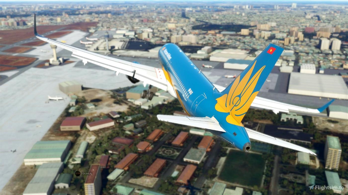 Vietnam Airlines(8K)[VN-A513] Flight Simulator 2020
