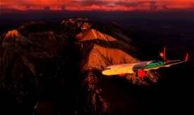 A320 Slovak Government Image Flight Simulator 2020