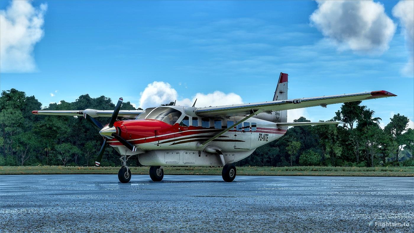 Cessna 208B Grand Caravan Ethnos360 Missionary Bush Pilot