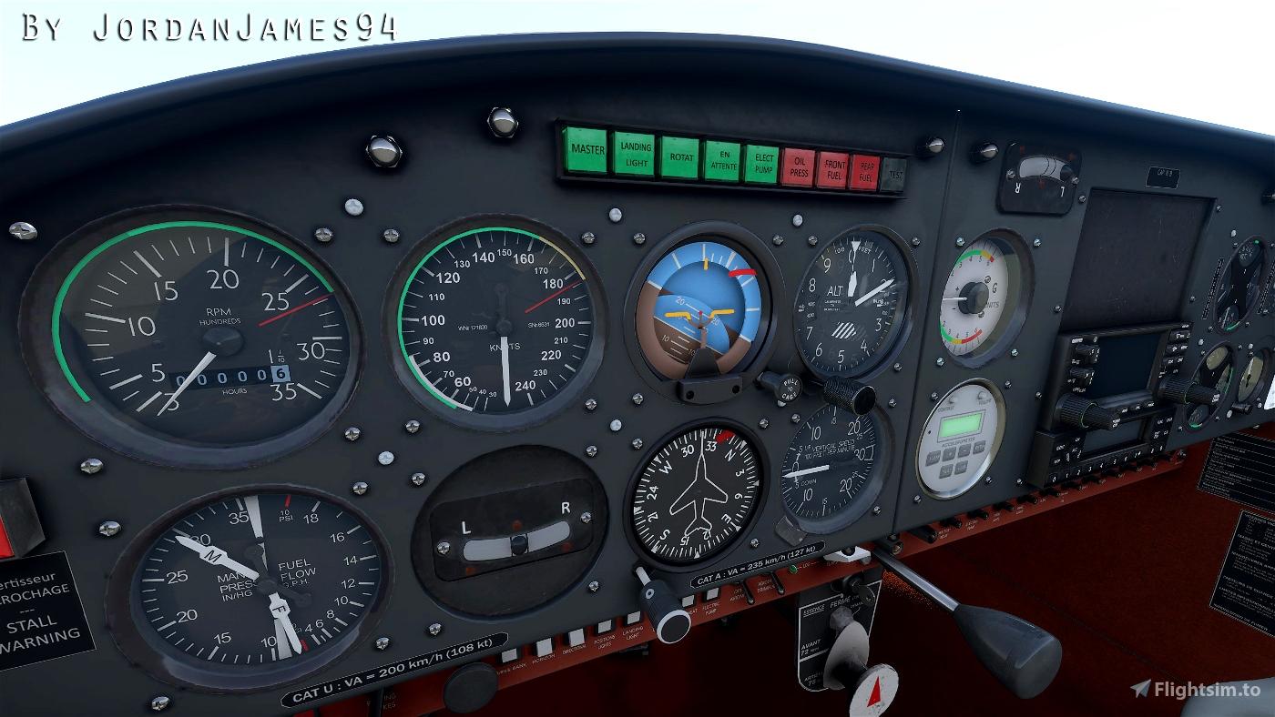 CAP10 ASI KNOTS CONVERSION Flight Simulator 2020