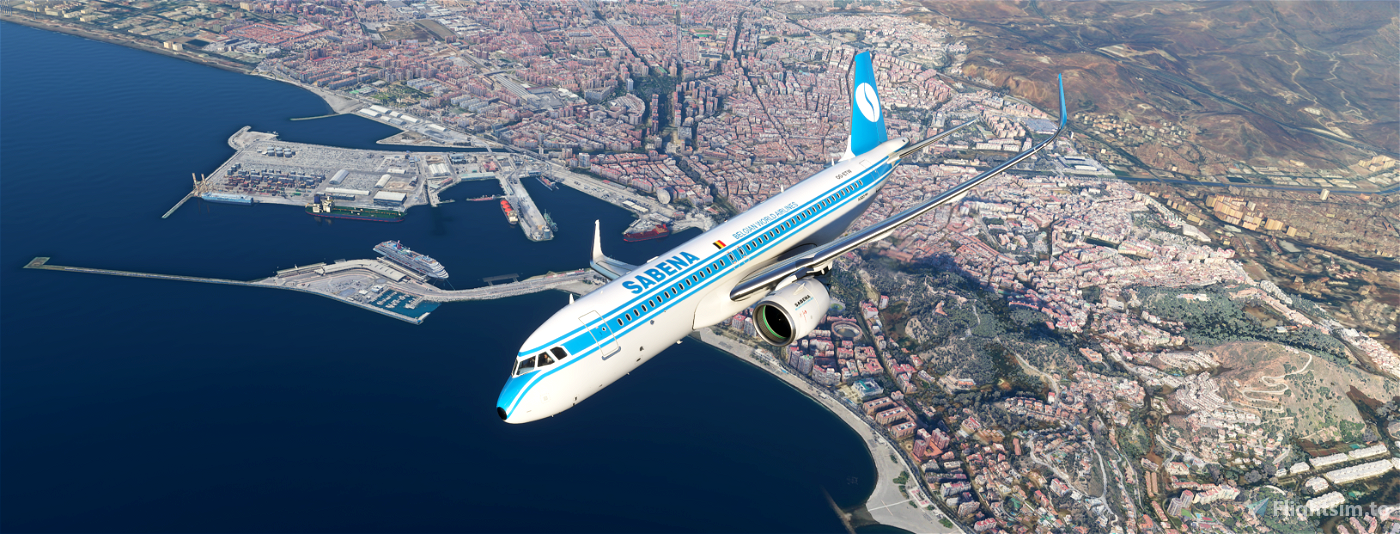 Sabena A320 Retro Flight Simulator 2020