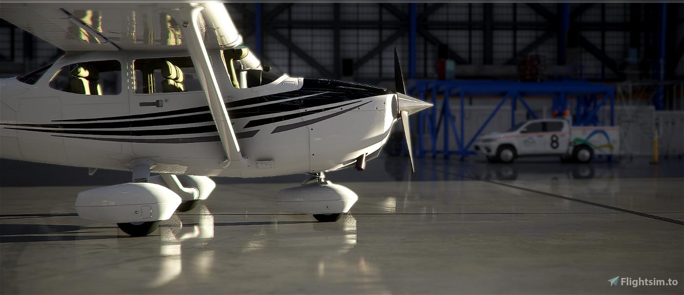 New Zealand Wellington Aero Club C172 Skyhawk (G1000)