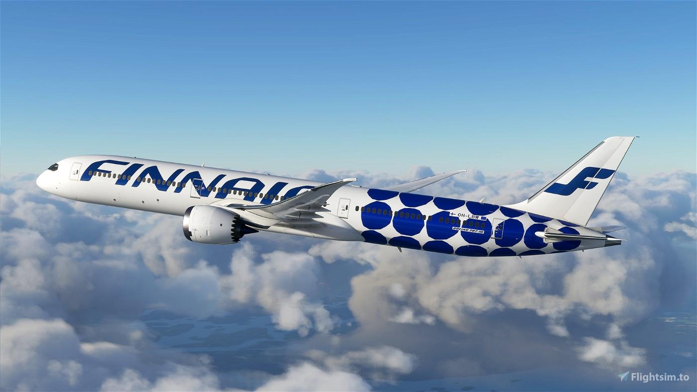 Boeing 787 - Finnair Marimekko Kivet