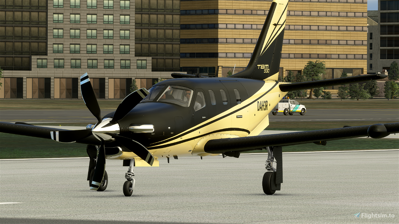 TBM 930 - Carbon Gold [ 4K | 2K ]