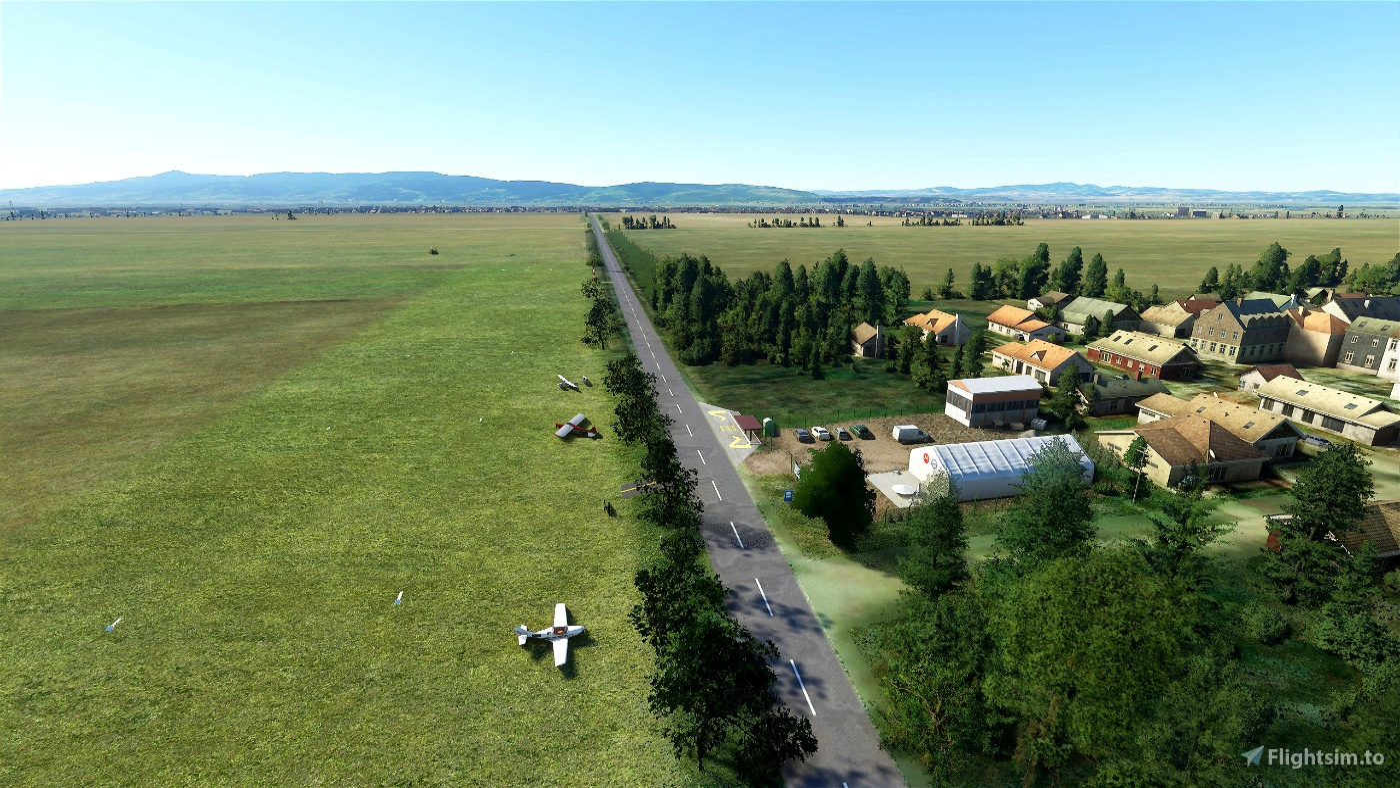 Dobricevo Cuprija airfield (LYCU) Microsoft Flight Simulator