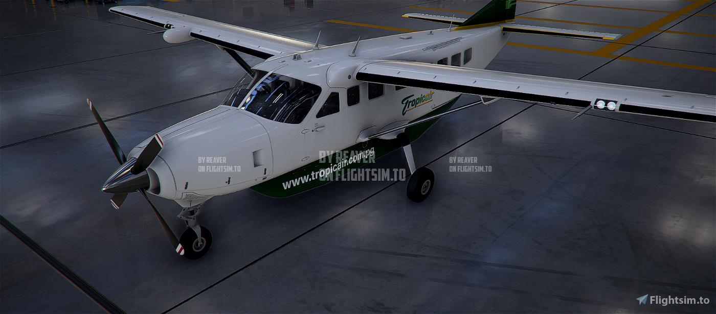 Papua New Guinea (PNG) Tropicair Caravan 208