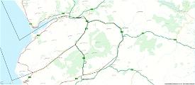 Mach Loop - Low Flying Area 7 (RAF/USAF), Wales, Snowdonia, UK (Flight Plans) Image Flight Simulator 2020