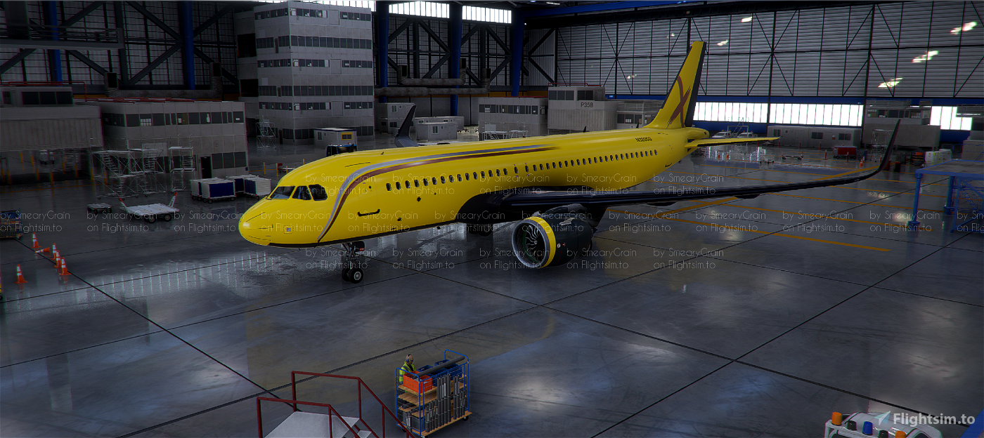 Airbus A320neo X Series (8 colours) [v1.10.7.0 compliant]