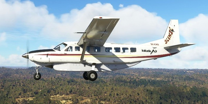 Cessna C208B Grand Caravan VH-KNQ Kakadu Air Service Flight Simulator 2020