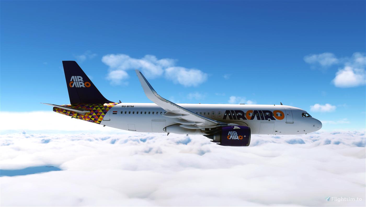 Air Cairo A320 SU-BTM Flight Simulator 2020